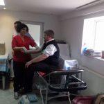 Preoţii şi enoriaşii din Olteniţa şi Călăraşi au donat sânge pentru bolnavii aflaţi în suferinţă