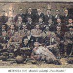 """Oltenita de altadata-1926-Societatea Cultural-Artistică-Sportivă """"PAZA DUNARII"""""""