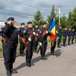 Depunerea jurământului militar la sediul Jandarmeriei Călărășene