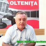 MIHAI SERBAN-Partidul NEAMUL ROMANESC-candidat la primaria OLTENITA !