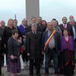 BUDESTI-AMBASADA RUSIEI-Depuneri de coroane la  monumentul soldatilor rusi cazuti in al doilea razboi mondial !