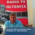 INVITATUL ZILEI-dl STATE LAURENTIU-coordonator tehnic ECOAQUA S.A-OLTENITA !